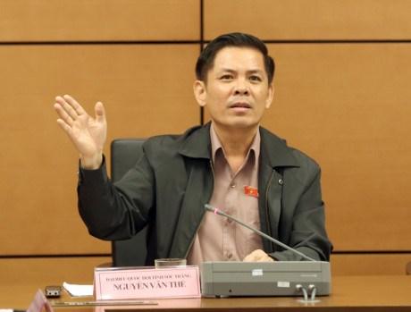 AN : ratification de la nomination d'un ministre et de l'inspecteur general hinh anh 1