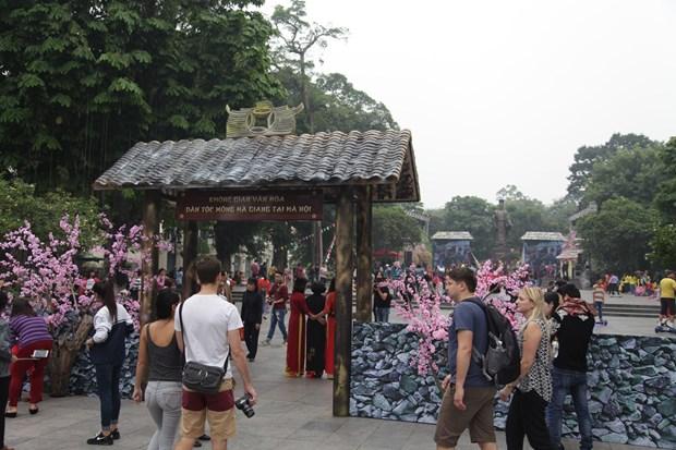 Un espace culturel et touristique de Ha Giang en plein cœur de Hanoi hinh anh 1