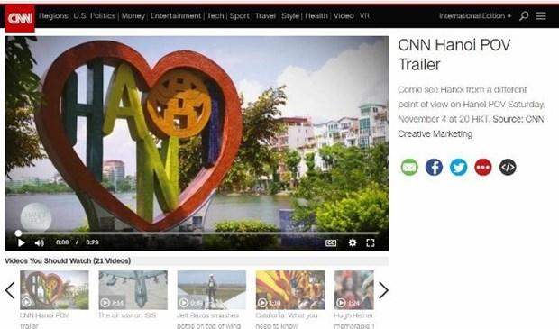 CNN : Diffusion d'une emission speciale sur le tourisme hanoien hinh anh 1