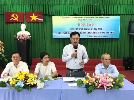 Ho Chi Minh-Ville : 145 stands au 7e marche des produits agricoles hinh anh 1