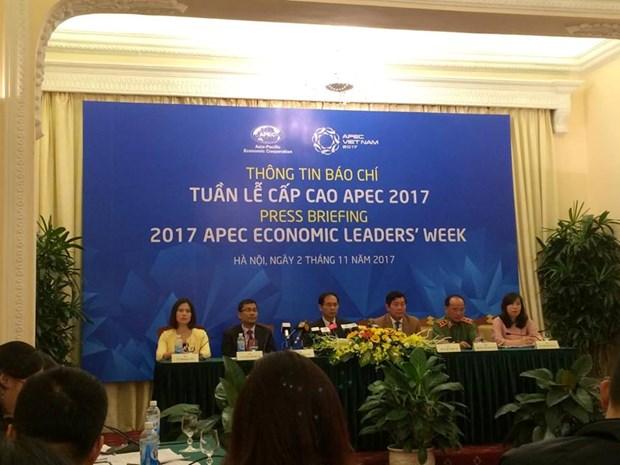 Tous les preparatifs pour la Semaine des dirigeants economiques de l'APEC 2017 sont acheves hinh anh 1