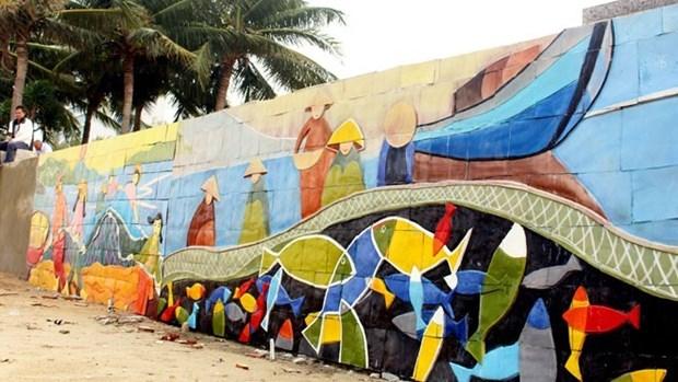L'art de rue anime la semaine de l'APEC 2017 hinh anh 1