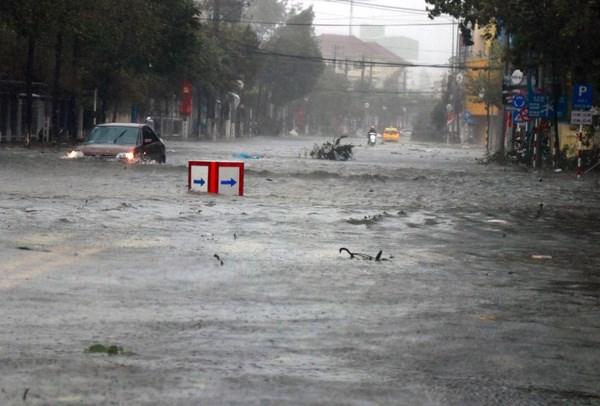Telegramme du Premier ministre apres le typhon Damrey hinh anh 1
