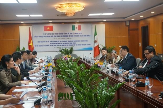 Reunion du Comite mixte Vietnam-Mexique sur la cooperation economique hinh anh 1