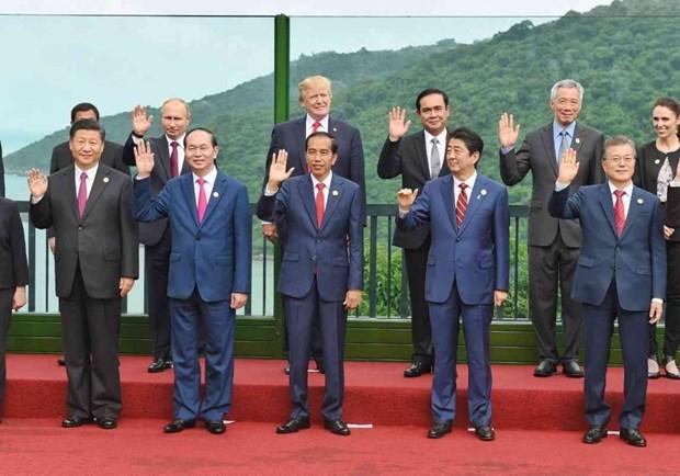 The Nation : les dirigeants de l'APEC s'engagent a suivre le commerce multilateral hinh anh 1