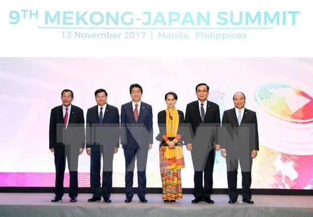 Le Premier ministre Nguyen Xuan Phuc au 9e Sommet Mekong-Japon hinh anh 1