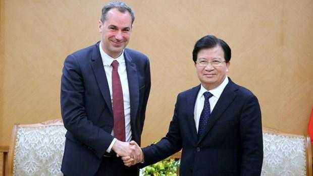 Promouvoir la cooperation entre les entreprises vietnamiennes et allemandes hinh anh 1