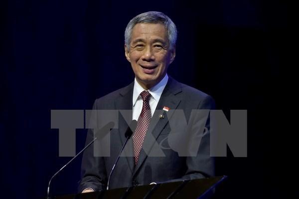Singapour presente les trois priorites de sa presidence de l'ASEAN en 2018 hinh anh 1