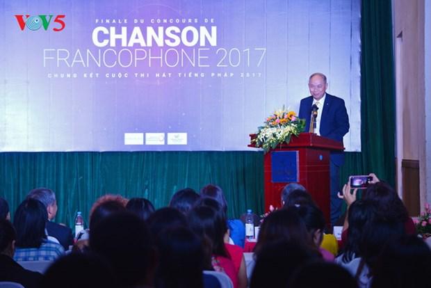 Finale du Concours de chanson francophone 2017 hinh anh 1