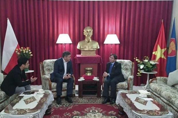 Vietnam - Pologne : Renforcement de la cooperation dans le commerce hinh anh 1