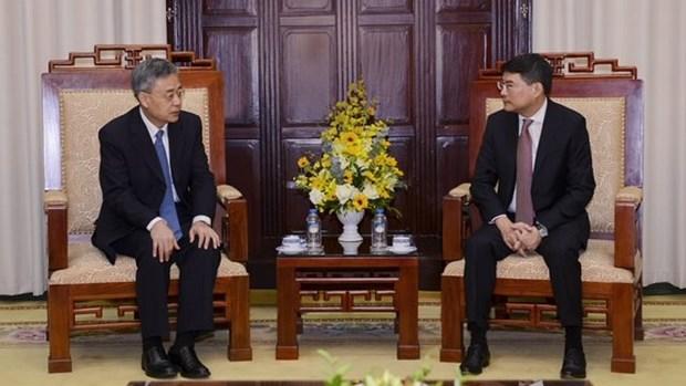 La Chine est prete a partager son experience dans la restructuration bancaire avec le Vietnam hinh anh 1