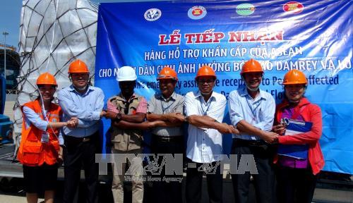 L'ASEAN soutient les sinistres vietnamiens du typhon Damrey hinh anh 1