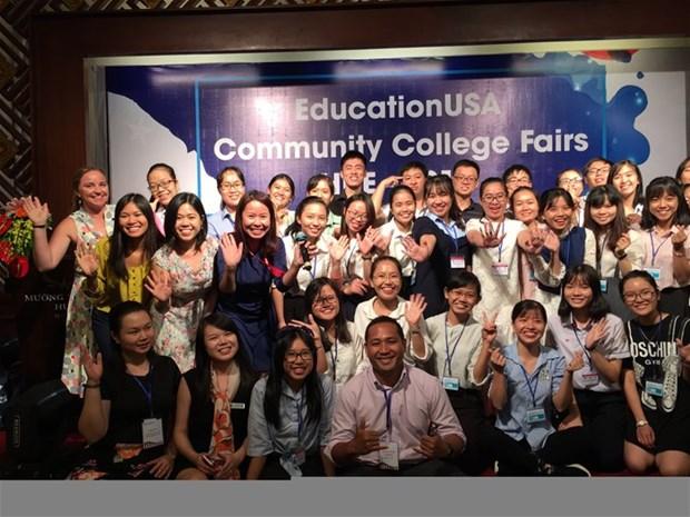 Hausse consecutive du nombre d'etudiants vietnamiens aux Etats-Unis hinh anh 1