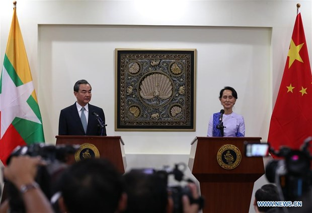 La Chine propose la mise en place d'un couloir economique avec le Myanmar hinh anh 1