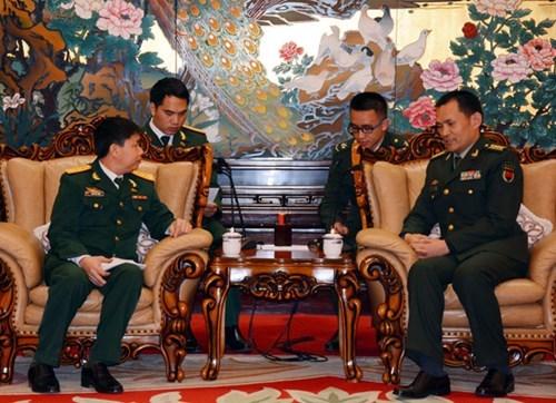 Echange des jeunes officiers Vietnam-Chine en 2017 hinh anh 1