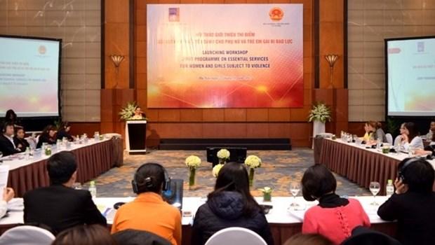 Presentation des services indispensables pour les femmes et les filles victimes de violences hinh anh 1