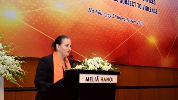 Presentation des services indispensables pour les femmes et les filles victimes de violences hinh anh 2