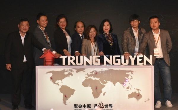 Inauguration d'un bureau de representation de Trung Nguyen a Shanghai hinh anh 1