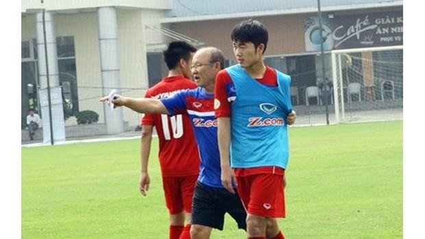Park Hang Seo planifie les preparatifs de la finale du championnat U23 d'Asie hinh anh 1