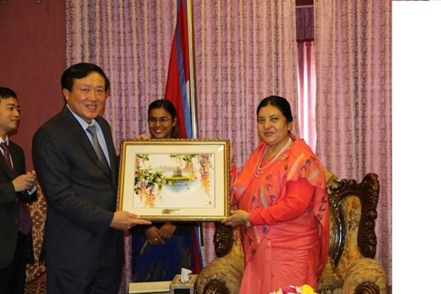 Le Vietnam et le Nepal intensifient la cooperation entre les juridictions hinh anh 1