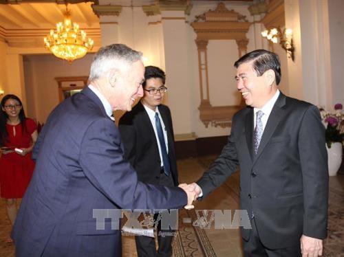 Ho Chi Minh-Ville accueille le ministre irlandais de l'Education hinh anh 1