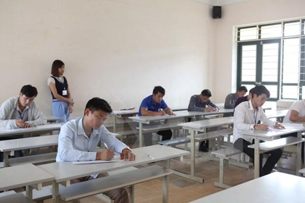 Concours d'eloquence en vietnamien en l'honneur de la Fete nationale du Laos hinh anh 1