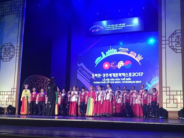 Plus de 3 millions de visiteurs au Festival mondial des cultures Ho Chi Minh-Ville - Gyeongju hinh anh 1