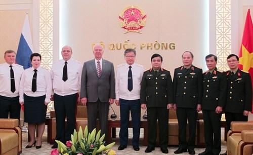 Le Vietnam et la Russie partagent des experiences dans le justice militaire hinh anh 1