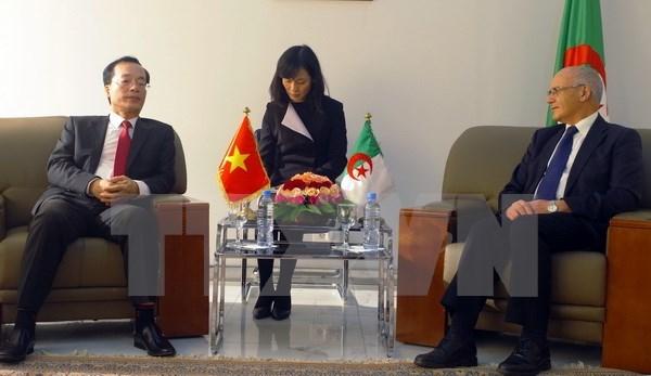 Le Vietnam et l'Algerie renforcent leur cooperation multiforme hinh anh 1