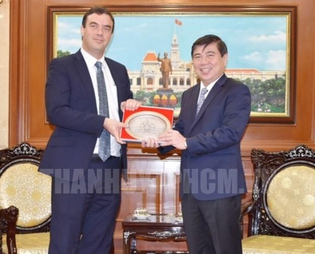 Ho Chi Minh-Ville veut cooperer avec Israel dans divers domaines hinh anh 1