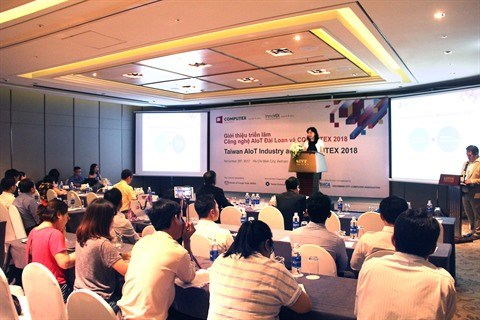 Chine : 100 entreprises de TI vietnamiennes au Computex 2018 a Taiwan hinh anh 1