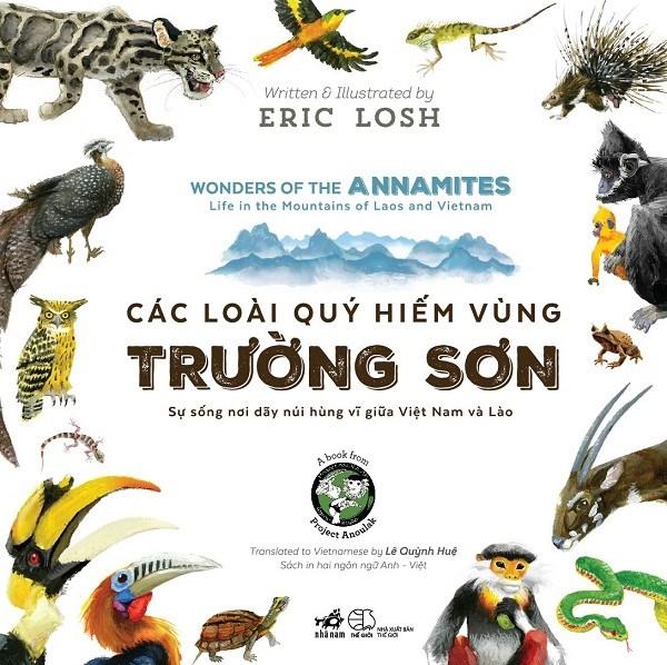 Presentation d'un livre sur les especes animales rares de la region de Truong Son hinh anh 1