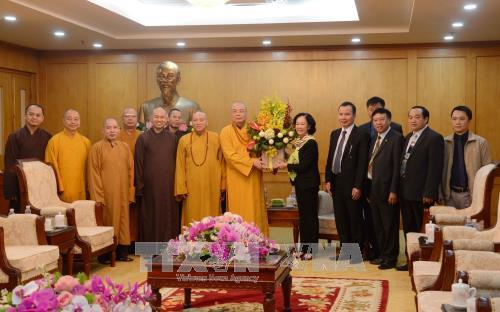 Truong Thi Mai felicite le succes du 8e Congres national de l'EBV hinh anh 1