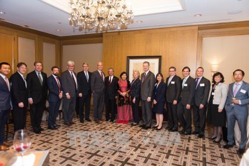 Ceremonie pour saluer le succes du partenariat integral Vietnam - Etats-Unis en 2017 hinh anh 1