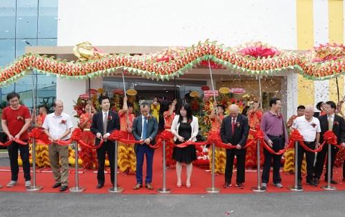 Inauguration d'un projet hongkongais de 5 millions de dollars a Long An hinh anh 1