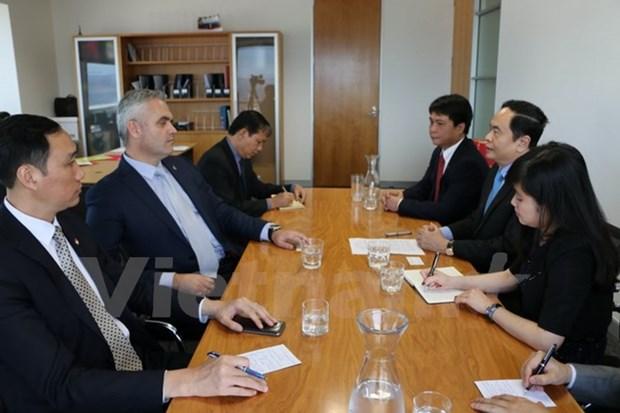 Une delegation du Comite central du FPV en tournee en Nouvelle-Zelande hinh anh 1