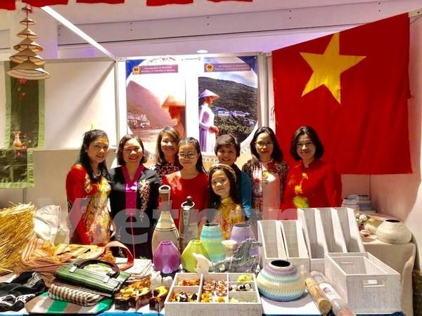 Charite : le Vietnam participe a la foire Bazaar en Ukraine hinh anh 1