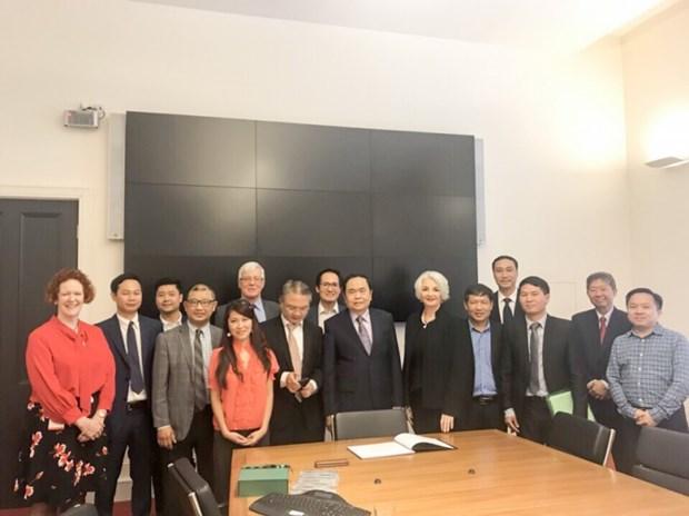 Le Vietnam et l'Australie renforcent leur cooperation dans l'education hinh anh 1