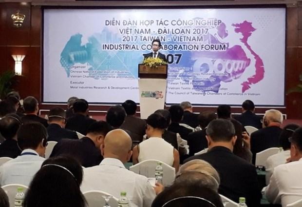 Le Vietnam et Taiwan (Chine) renforcent la cooperation dans l'industrie hinh anh 1