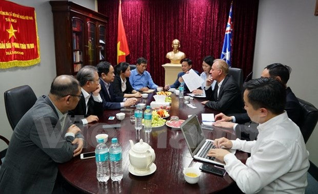 Le Vietnam veut promouvoir les exportations aquatiques vers l'Australie hinh anh 1