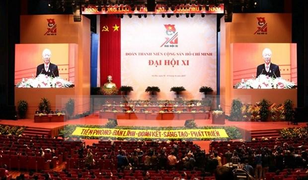 Ouverture du 11e Congres national de l'Union de la jeunesse communiste Ho Chi Minh hinh anh 1