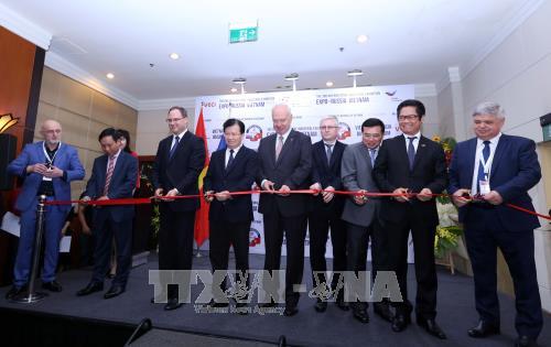 Ouverture de l'Expo - Russia Vietnam 2017 hinh anh 1