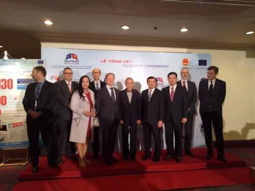 Le projet EU-MUTRAP contribue a l'acceleration de l'integration commerciale du Vietnam hinh anh 1