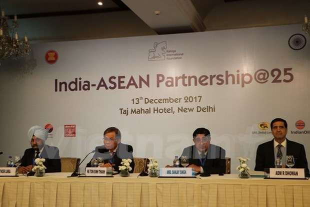 L'Inde souhaite intensifier ses relations avec l'ASEAN hinh anh 1