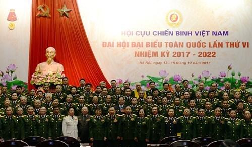 Cloture du 6e Congres national de l'Association des anciens combattants du Vietnam hinh anh 1