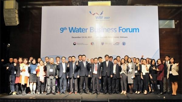 Le Vietnam et la R. de Coree cooperent dans la gestion intelligente des ressources en eau hinh anh 1