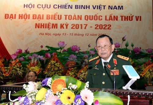 Cloture du 6e Congres national de l'Association des anciens combattants du Vietnam hinh anh 2