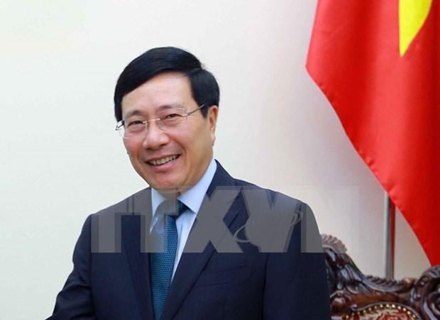 La visite du vice-Premier ministre Pham Binh Minh en Republique de Coree se profile hinh anh 1