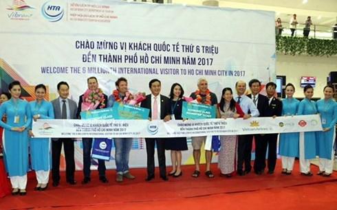 Ho Chi Minh-Ville accueille son 6 millionieme touriste etranger hinh anh 1