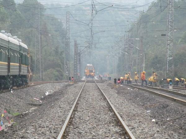 La Chine construit une ligne de chemin de fer a grande vitesse vers l'ASEAN hinh anh 1
